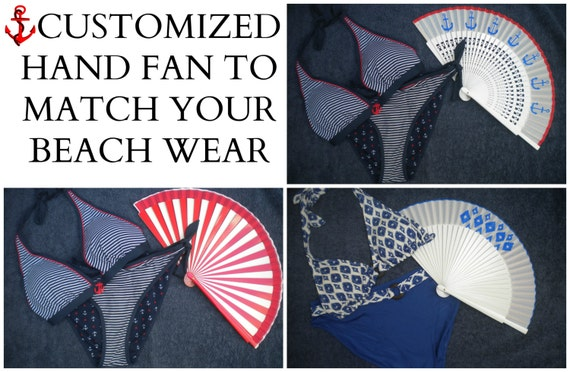 Hand Fan to Match Clothing