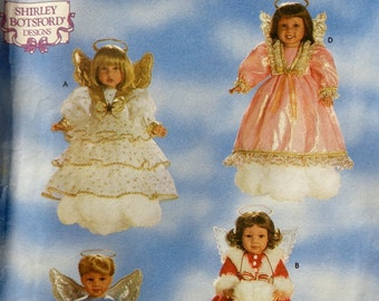 """Simplicity Crafts 18"""" Doll Clothes SHIRLEY BOTSFORD Angel Sewing Pattern 8478 UNCUT - Fits American Girl Our Generation Carpatina Gotz Dolls"""