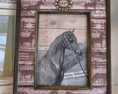 Horse Theme Photo Frame Horse Theme Personalized Bling