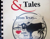 Vintage cookbook Texan Tastes & Tales by Peg Hein From Texas With Love recipes cooking kitchen collectible cook food southwestern western