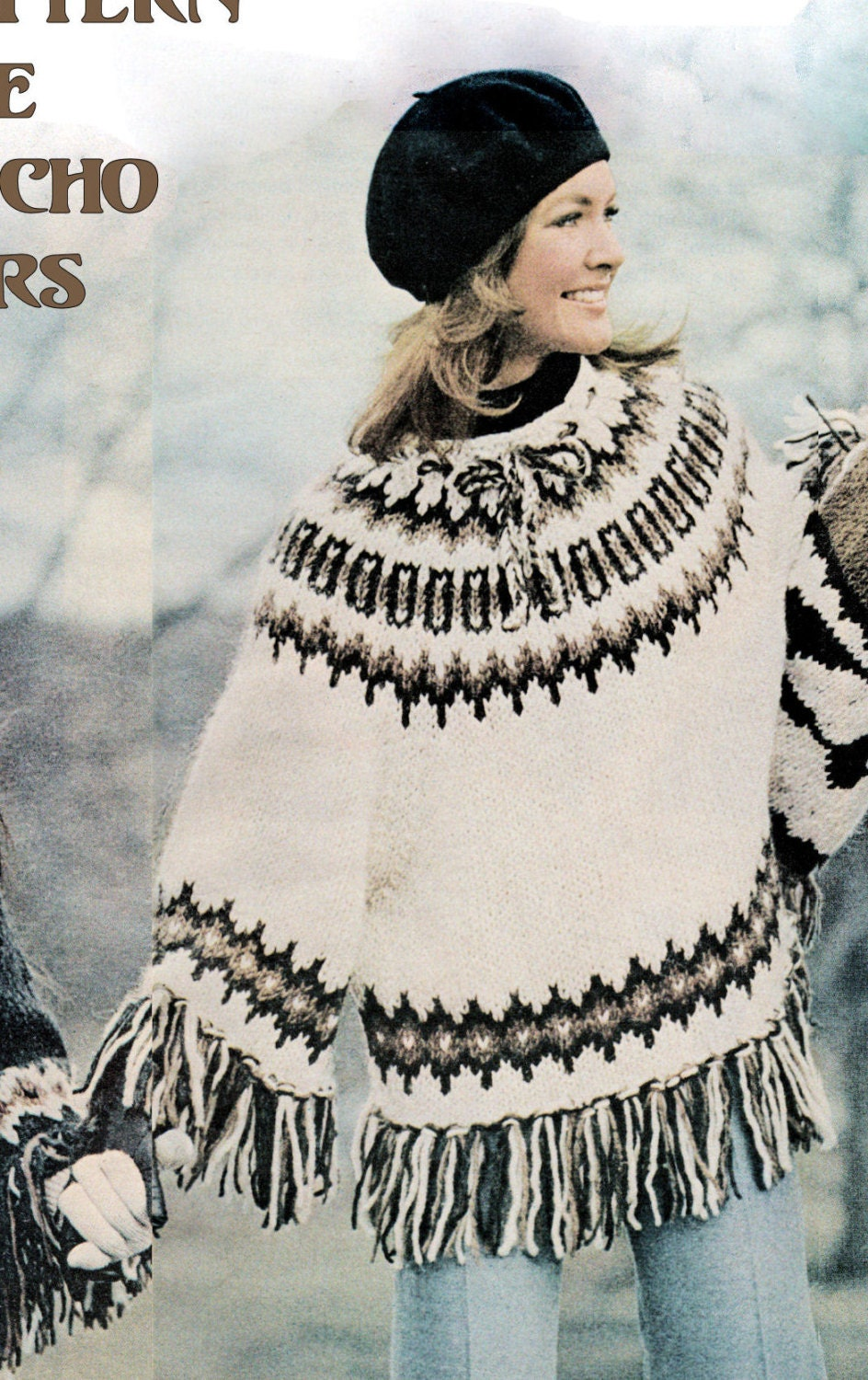 Instant download pdf knitting pattern to make a fairisle aztec this is a digital file dt1010fo