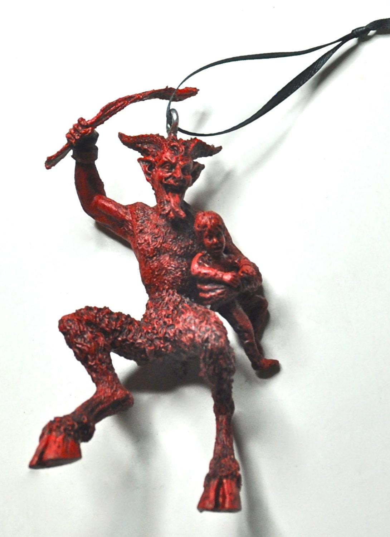 Krampus Ornament version 2