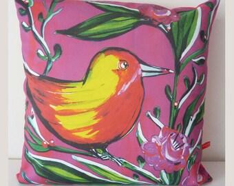 Pillowcover Bird Pink