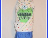 Gorgeous Cutest Nephew Ever Diaper Cake Baby-Beautiful Shower Gift Idea
