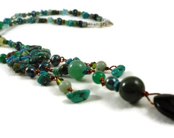 Turquoise Dazzler Necklace
