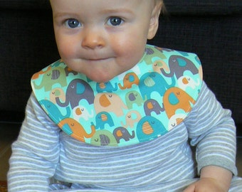 Baby Bib (including 3 different designs)  PDF Sewing Pattern -Easy to Sew