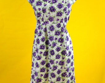 1960s Floral Dress with Jacket
