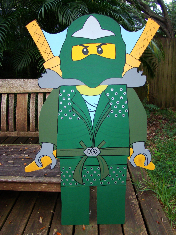Ninja lloyd lego ninjago photo prop event decoration - Photo ninjago ...