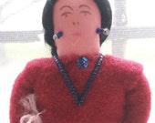 Choctaw Indian Doll, Vintage  -- VK261
