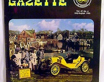 Horseless Carriage Gazette July-August 1985 Volume 47 No. 4