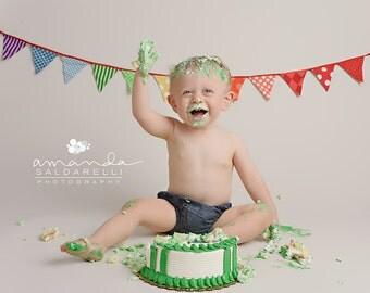 Denim diaper cover, boys diaper cover, baby boy, jean diaper cover, blue diaper cover, nappy cover, boy bloomers, cake smash, denim shorties