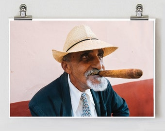 Cigar Man Cuba Fine Art Photography