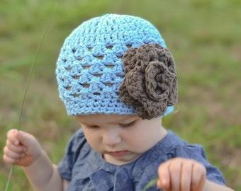 baby, girl, baby girl hat, hat, girls hat, blue hat, baby girl, kids hat, crochet baby hat, crochet hat
