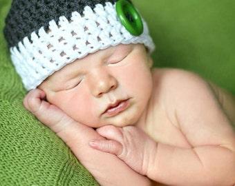 boys hat, newborn boy hat, baby hat, baby boy hat, crochet baby hat, newborn hat
