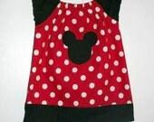 Mouse Custom Peasant Dress
