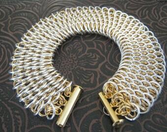 Fafnir Dragonscale Chainmaille Bracelet