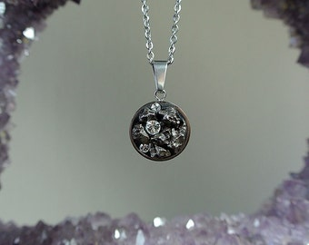 Meteorite Pendant - Necklace - Shooting Star - Campo del Cielo - The Cosmos Necklace - Galaxy Jewelry