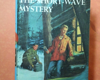The Short-Wave Mystery by Franklin W. Dixon volume 24 of The Hardy Boys vintage 1966 hardcover junior sleuth novel