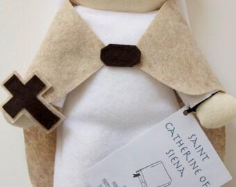 Saint Catherine of Siena Doll