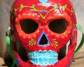 Dia De Los Muertos mask decoration