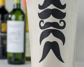 Wine Tote - Recycled Cotton Canvas - Stache