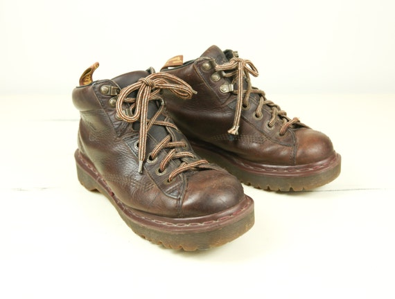 size 7 doc martens lace up ankle boots by lazydayrelics