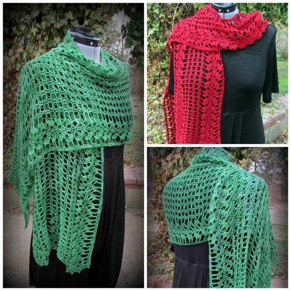 Pattern only Maureen O Shawl pattern crochet lace