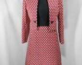 vintage 1960s Shannon Rodgers dress suit / size medium