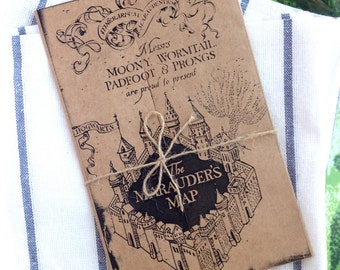 Marauder's Map Printable - Perfect for Menus, Birthday Cards, or Invitations, Harry Potter Style!