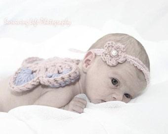 Newborn Butterfly Wings & Headband Photo Prop