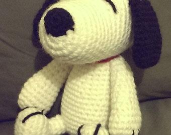 Custom Crochet Peanut's - Snoopy Amigurumi