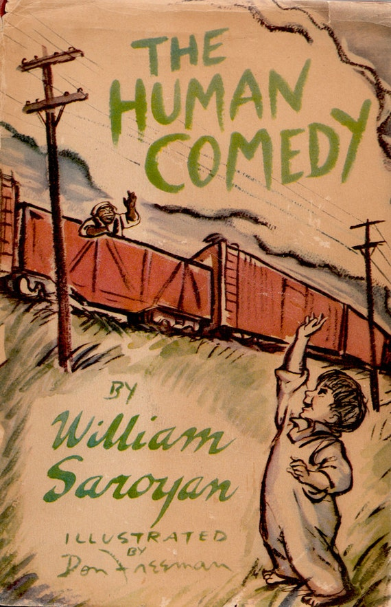 human comedy The human comedy is a 1943 american drama film directed by clarence brown and adapted by howard estabrook it is often thought to be based on the william saroyan.