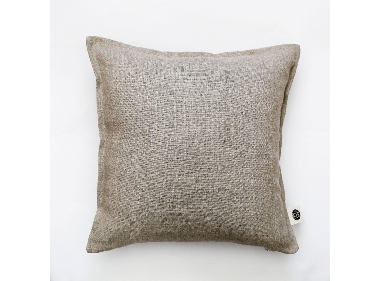 Natural Decorative Pillow : Throw pillow linen pillow natural linen pillow cover