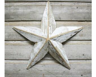Salvaged Wood Star Rustic Barn Star