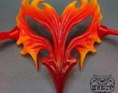 Phoenix mask - Flame