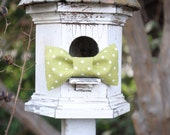 Green bow tie, St Patricks Day, Polka dot bow tie, Photo prop, Toddler Bow Tie, Ring Bearer, Wedding party bow tie, Boy Bow tie