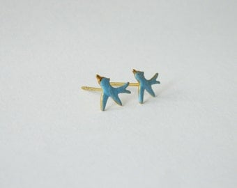 Bluebird Earrings - OE003