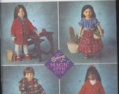 Doll Clothes Patterns - Magic Attic Club  for 18 inch Doll from Simplicity Crafts Number 8451