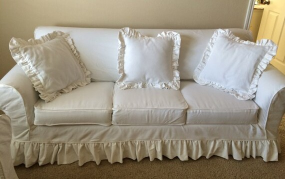 3 Cushion Sofa - Custom Slipcover - Re-Design your Sofa