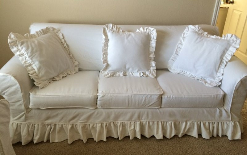 3 cushion sofa custom slipcover re design your by lharmondesign. Black Bedroom Furniture Sets. Home Design Ideas