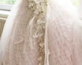 Bridal Crystal Orchid Bouquet, Cascading Rhinestone Bouquet