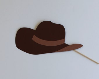 Cow Boy or Girl Rodeo Hat Photo Booth Prop