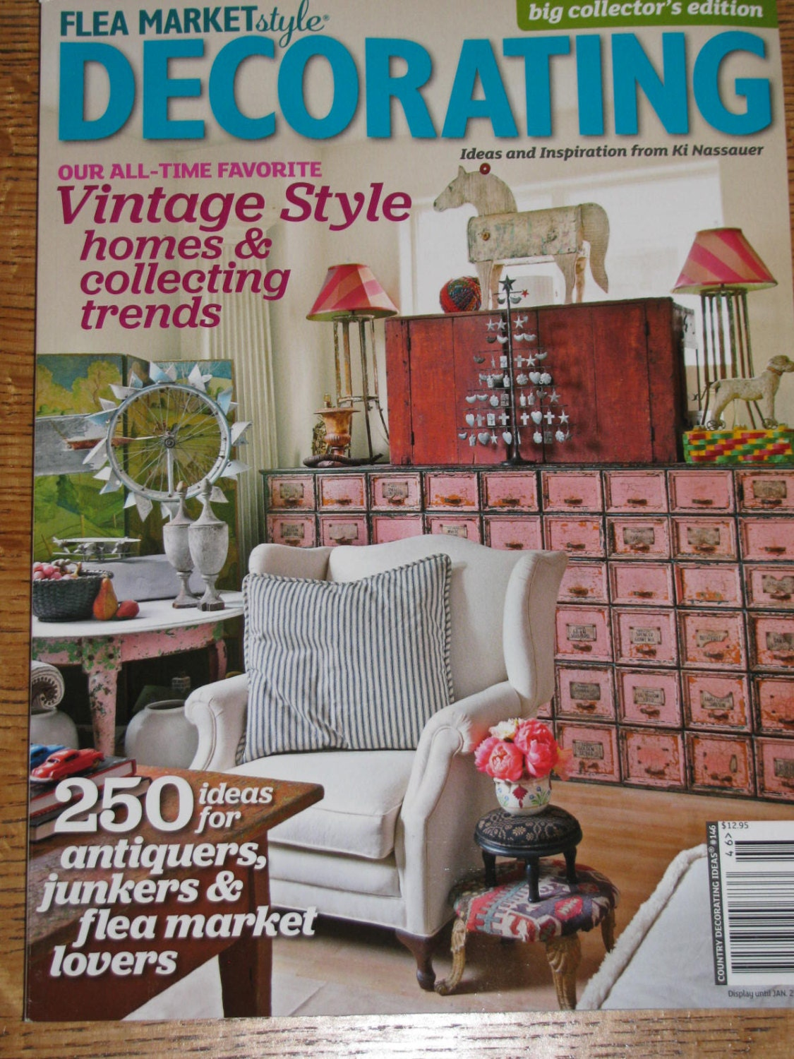 New 2013 flea market style decorating big by vintageabcs for Decor market reviews