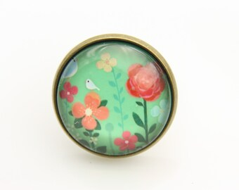 Flower Ring, flowers ring,  (2020B)