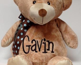 "Personalized XLarge Jumbo 20"" Stuffed Teddy Bear"