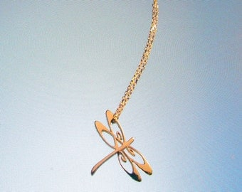 """One Meaning - """"I Love You Dragonfly"""" Necklace .....all of our jewelry means I LOVE You"""
