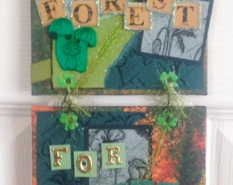 See The Forest For The Trees Wall Hanging