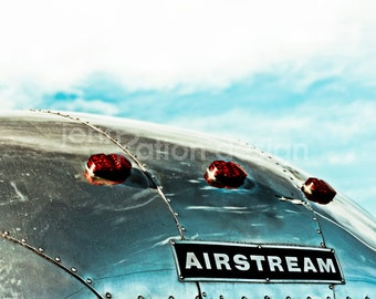 "Airstream Vintage Camper 8"" x 10"" Photograph Print"