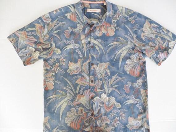 Vintage Mens Silk Hawaiian Shirt Tommy Bahama Fabulous