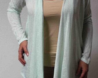 Must Have Exclusive Designer Lagenlook Long Sleeve Cardigan in Regular Sizes